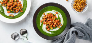 Minted Spinach Soup