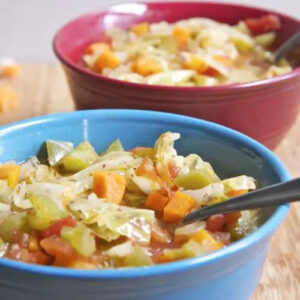 Cabbage Detox Soup