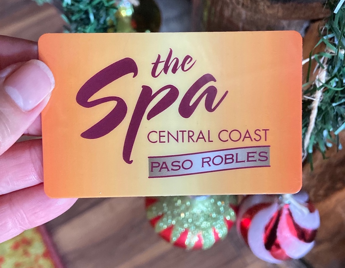 Paso Robles Day Spa Gift Card - The Spa Central Coast
